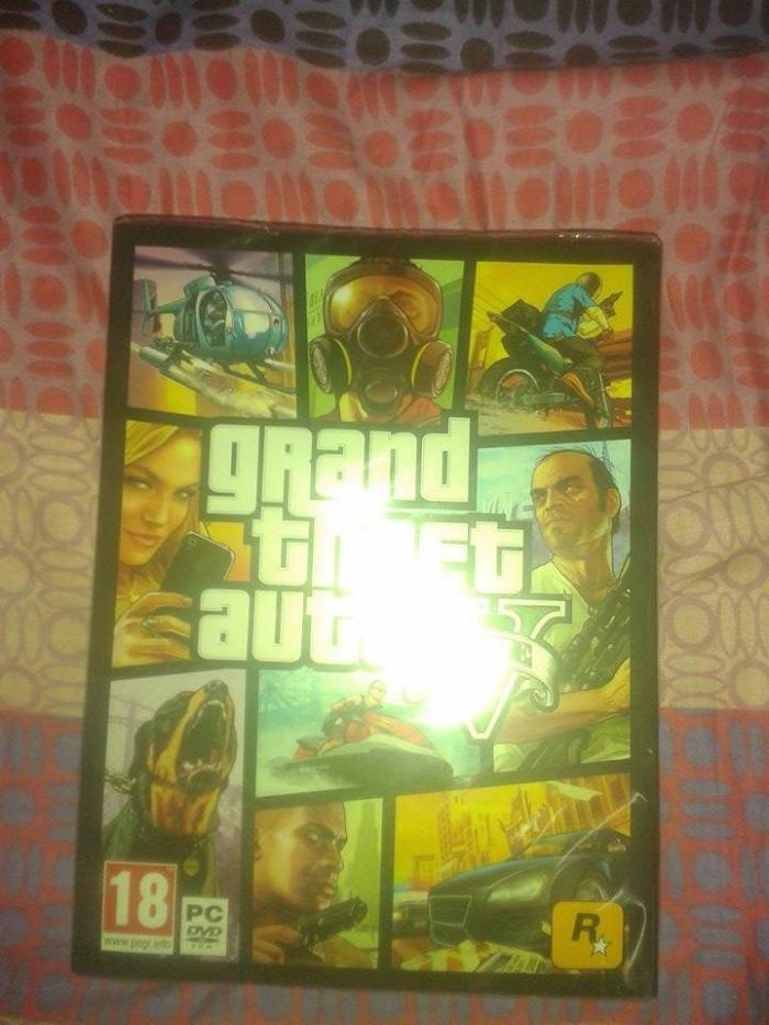 gta v pc pre order box cover