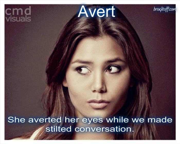 avert pretty girl eyes look eyes
