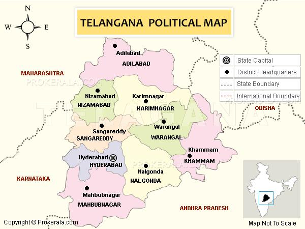 telangana-state-map