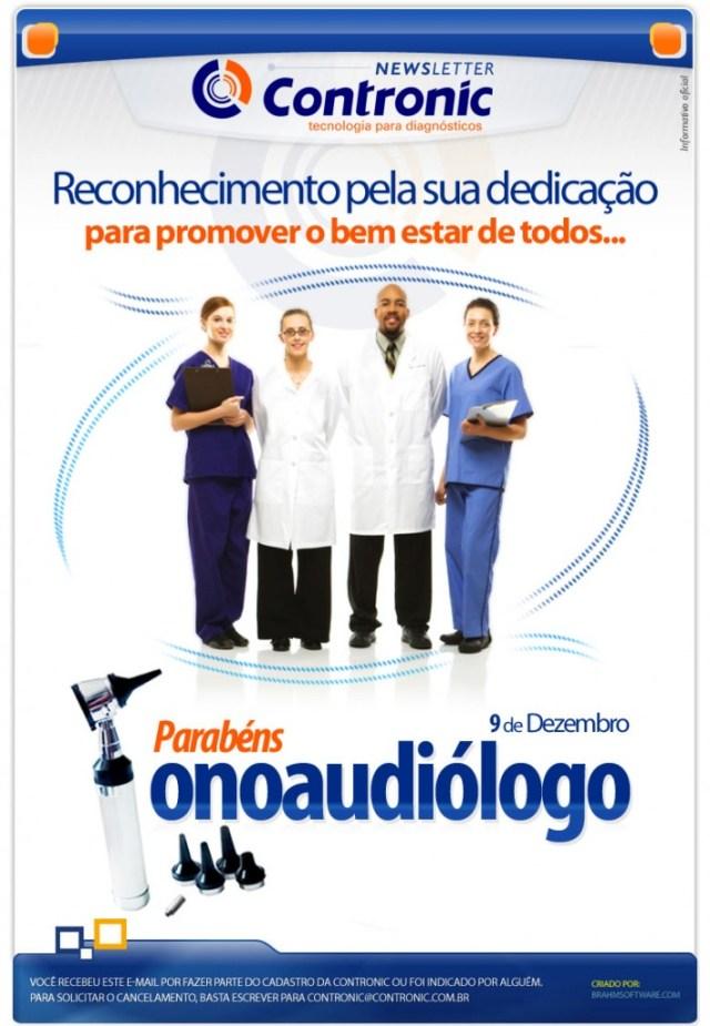 Newsletter dia do Fonoaudiologo 9 de dezembro de 2010