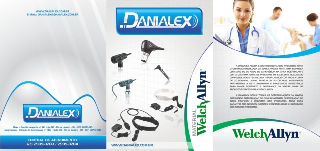 Folder Welch Allyn para Danialex