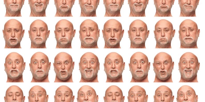 柏金遜症的面部表情