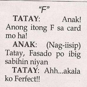 Tagalog jokes: March 2015