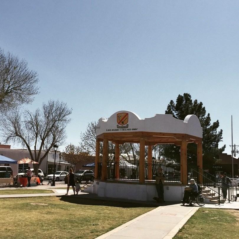 Mesilla New Mexico Plaza