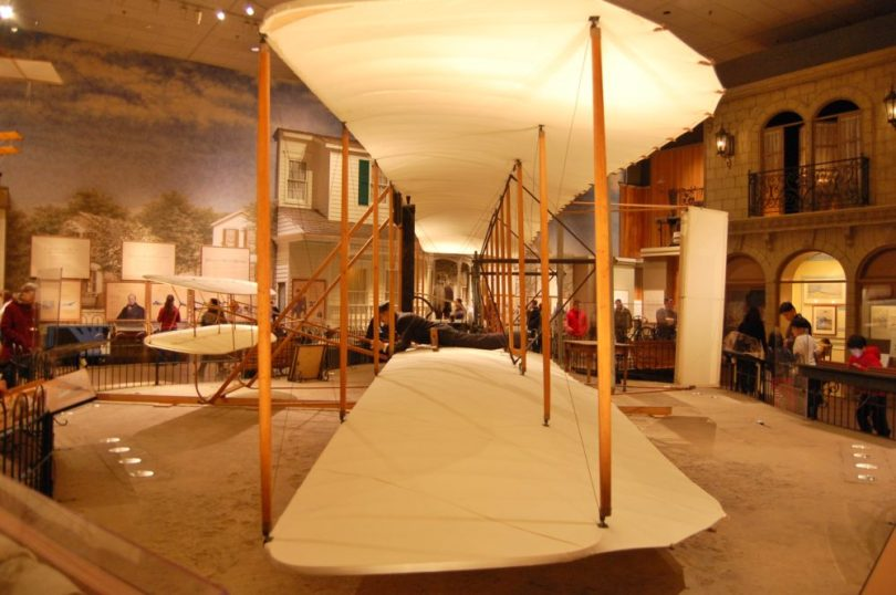 Space Museum Wright Brothers Plane