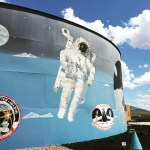 A Look Inside The Space Murals Museum in Organ, New Mexico
