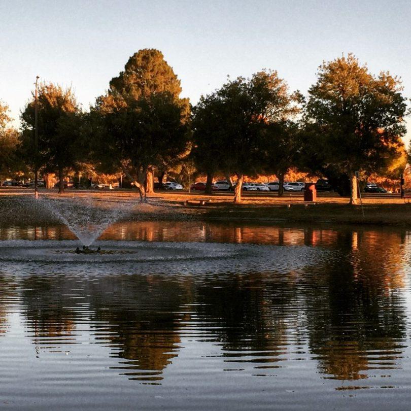 NMSU pond