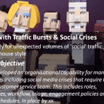 Social Customer Service: Dealing With Traffic Bursts & Social Crises