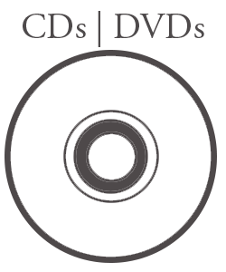 Cds and DVDs