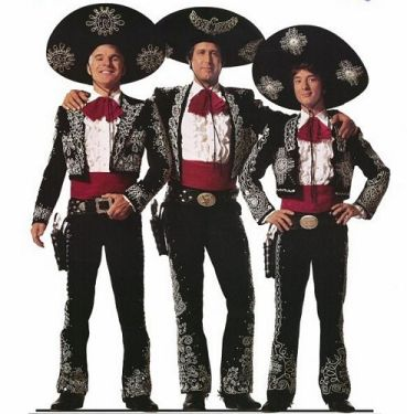 The Three Amigos! starring Steve Martin, Chevy Chase, and Martin  Short