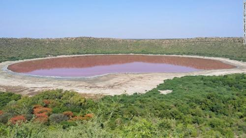 50,000-year-old Lake Turns Pink In India, Experts Wonders Why