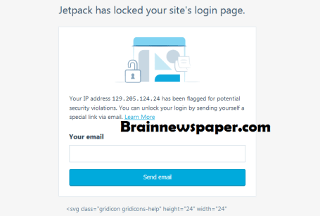 How To Fix - Jetpack Has Locked Your Site's Login Page
