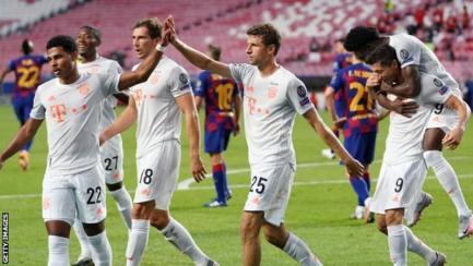 Barcelona 2 Vs Bayern Munich 8