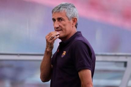 Barcelona Sacks Head Coach Quique Setien After Champions League Exit