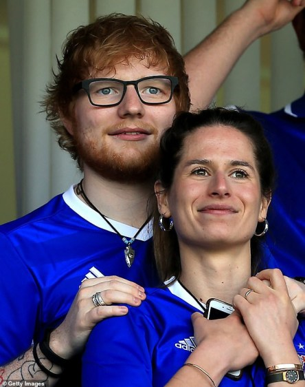 English Singer Ed Sheeran And Wife Cherry Seaborn 'Expecting Their First Child Together'