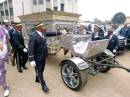 Funeral Service Of Late Chief Anthony Enukeme, CEO Of Tonimas Oil And Gas