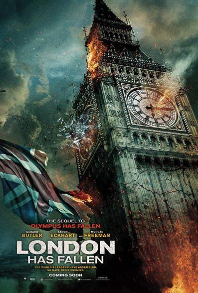 Hollywood Movie London Has Fallen (2016)