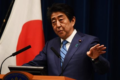 Japanese Prime Minister, Shinzo Abe Resigns Due To Health Issues