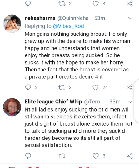 What Do Men Really Gain From Sucking Of Breasts