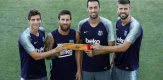 Barcelona Re-elect Messi As Its Captain