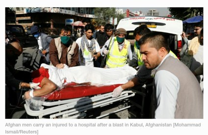 Bomb Attack In Kabul Injures Vice President Amrullah Saleh, Kills 10