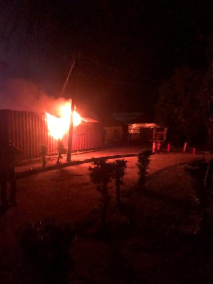 Fire Guts INEC Office In Ondo, Card Readers Destroyed
