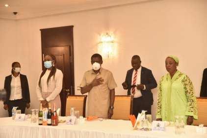 Obaseki Visits Gov Udom Emmanuel In Akwa Ibom State