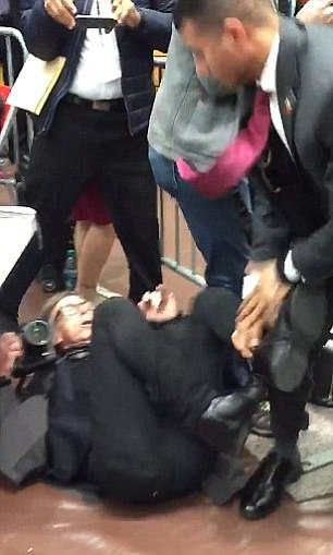 Secret Service Agent Who Assaulted A Time Photographer At 2016 Donald Trump Rally Cleared Of Wrongdoing