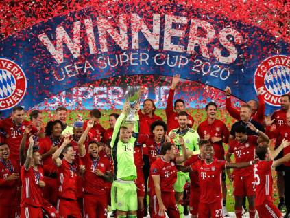 UEFA Super Cup Result Bayern Munich 2 - 1 Sevilla