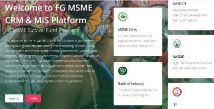 Federal Govt Closes MSME Survival Fund Portal