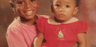 Throwback Photo Of Billionaire Daughters, Temi Otedola And DJ Cuppy Emerges Online