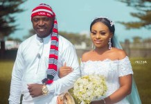 Groom Spotted Wearing Traditional Efik Attire For His Church Wedding In Akwa Ibom