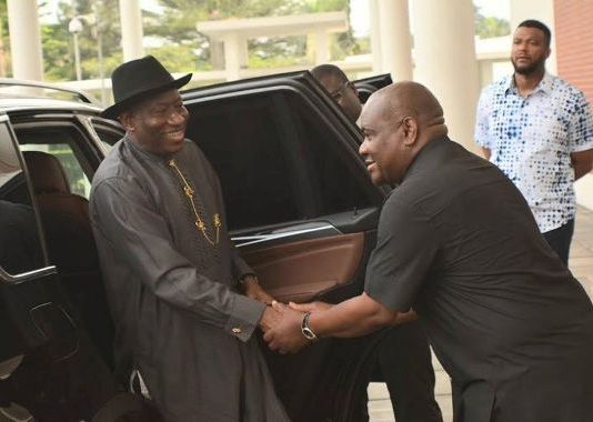 What Goodluck Jonathan Told Governor Wike That May Interest You