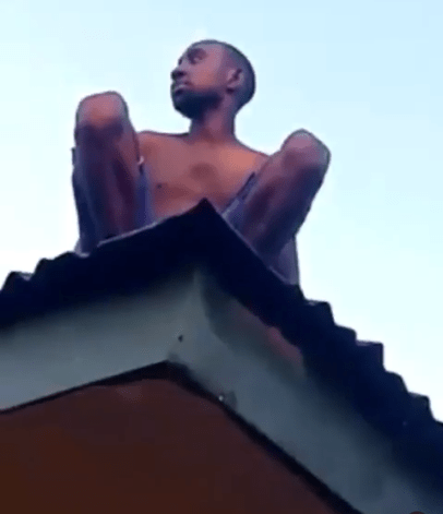 Wizard Returning From Coven Crash Lands On Roof Top