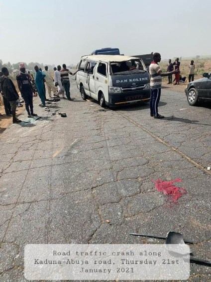 15 Persons Dies In Accidents Along Kaduna-Abuja Road