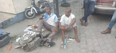 2 Men Hired For Hostel Renovation Arrested After Stealing Students' Belongings In UNICAL