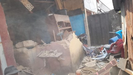 Cross River State Government Demolishes Building Belonging To Suspected Kidnapper, Also Brothel Housing Underage Girls