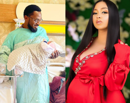 D'Banj And Wife Lineo Didi Kilgrow Welcomes Baby Girl