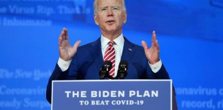 Joe Biden Unveils $1.9tn US Economic Relief Package