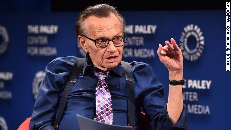 Legendary Broadcaster Larry King Hospitalized With Coronavirus