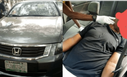 Man found dead in his car in Lagos