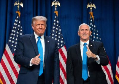President Trump, VP Pence React To US Capitol Invasion