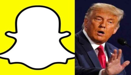 Snapchat Permanently Suspends President Trump Account