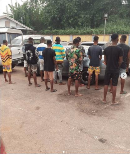 11 Suspected Internet Fraudsters Arrested In Edo State