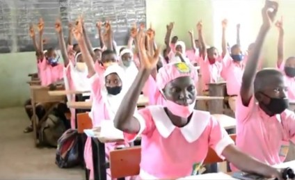 50-Year-Old Mother Who Recently Enrolled In JSS2 At Ilorin Grammar School