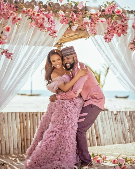 Banky W And Adesua Etomi Welcomes First Child Together