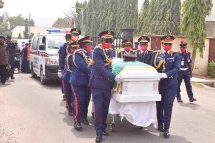 Former Governor Of Akwa Ibom Air Marshall Nsikak Eduok (Rtd) Laid To Rest