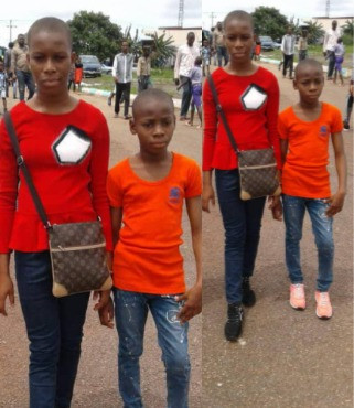 Photos Of 2 Children Declared Missing In Anambra