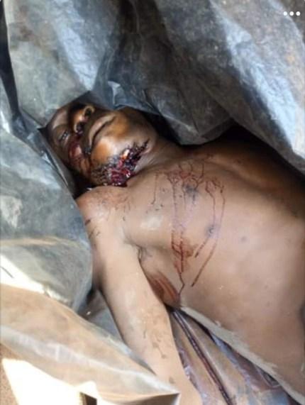 See Graphic Photo As Fulani Herdsmen Kills Ogun Farmer