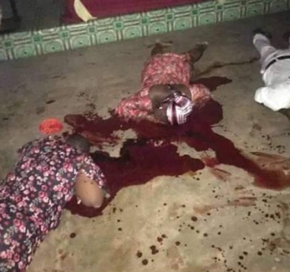 See Photos As Man, Wife & Daughter Are Killed In Anambra Seventh-Day Adventist Church